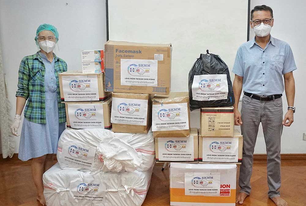 MAFP receives the second shipment of PPE from Shin Kong Hospital